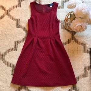 Maroon Francesca's Dress